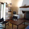 Ariège-Pyrénées, Goulier, gîte rural la Grange - bibliothèque