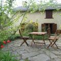 Ariège-Pyrénées, Goulier, gîte rural la Grange - jardin privatif