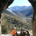 Ariège-Pyrénées, Goulier - vue sur le village