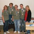Bay.Meisterschaft 3.Platz Martina,Elsbeth Stefanie und Sascha