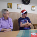 Margund und Doris sitzen schon