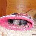 Lina im Schlafsack