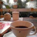 もちろん珈琲は最高!モカハラーを頂きました。ちょっと飲んじゃってから写真とってます、へへ。
