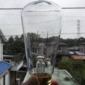 生産が終了したエジソン電球、少しだけあり〼。