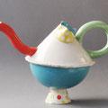 Teekrug MEMPHIS, Porzellan, h 30 cm