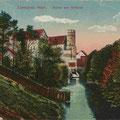 Allenstein - Olsztyn, Ostpreussen - Polen (um 1918)