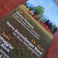 Flyer für die nächsten Termine - 11. Juli mit dem Souljackers Duo ist bereits eingetragen