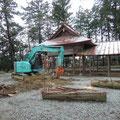 解体8(木の伐採)