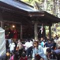直毘神社(上舞木お神楽講保存会による神楽)