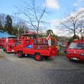 1月6日 消防団の出初めにあたり、毎年恒例の新年祭