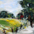 bei Offenhausen 1 - 37 cm x 37 cm - Acryl auf Bütten - 2016 - 280,- €