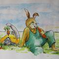 Kaninchenotto und Hasenpeter