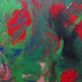 Junifülle - Pigmente - Leinwand 50x40