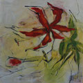 Gloriosa - Acryl auf Leinwand - 80 x 80cm