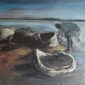 Fischer am Nil - 50 cm x 100 cm