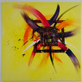 Befreiung - 80 x 80 - Acryl auf Leinwand