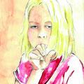 """Illustration aus dem Buch """"Benni der Bücherwurm"""" von Daniela Wanninger"""