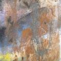 Der Geschmack des Granatapfels - Pigmente-Eisen-Granatapfelkerne - Leinwand 50x80