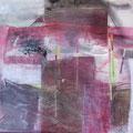 O.T. - Collage auf Leinwand - 60x60 - 380.-€