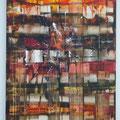 ohne Titel - 50 x 70 - Acryl auf Leinwand