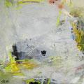 Nisyros - Acryl/mixed media auf Leinwand  - 100 cm x 100 cm – 2011 – 750 €