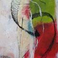 Farbspiele - Acryl Sprühtechnik - 60 x 80cm