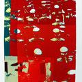 Auflauf 2008 - Siebdruck auf Papier - 70 cm x 100 cm - 2008 - 280,- €