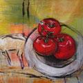 Tomaten - Acryl auf Leinwand - 50 x 50cm - 200,- €