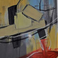 Abstrakt - Acryl auf Bütten - 26 x 36cm