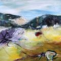 südliche Landschaft - 60 cm x 80 cm - Acryl auf Leinwand - 2016 - 780,- €