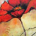 Mohn - Acryl auf Leinwand - 40 x 60cm - 240,- €