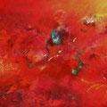 lebendig ........ 60 cm x 80 cm - Acrylmischtechnik