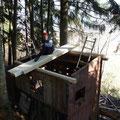 Rauf mit dem neuen Dach