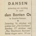 THE CIVILIANS: Dagblad de Stem 15-10-1965