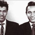 Andy Tielman en Edu Schalk (ca. 1957/1958)