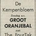 THE FOUR TAK: Dagblad De Stem 19-04-1968