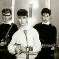 THE STYLETS 1962 vlnr: Eddy Ponjee - Eddy Arons - Coen van Doorn - Emile Lemmens - Peter Breugelmans