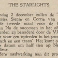 THE STARLIGHTS: De Eendrachtbode 28-11-1968