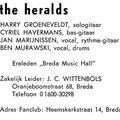 THE HERALDS 1966