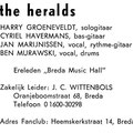 THE HERALDS 1966