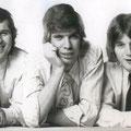 TRIO '67 met  Ben de Groot, Martin Nouwens en de tweede drummer Arie Noordhuizen.