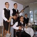 The Lucky Charms 1965 vlnr: Cees van Merriënboer - Kees van der Meijden - Andy Keim - Piet de Leeuw (foto: Cees van Merriënboer)