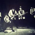 THE SPARKS (1963) vlnr: Chris Struyk (drums), Peter Koolen (zang), Jacques Verburgt (basgitaar), Hans Hagenaars (ritmegitaar) en Cees de Groot (sologitaar).
