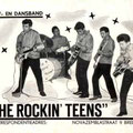 THE ROCKIN' TEENS vlnr: Arie Mosies, Benny Tönjes, Boudy Rhemrev, Henny Breukers en Rudy Koeasi Amoed