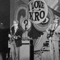 THE OP-SOUND tijdens KRO songfestival I LOVE in Schouwburg De Kring, Roosendaal op 20 april 1968.