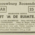THE CALDONIANS: Dagblad de Stem 11 oktober 1958