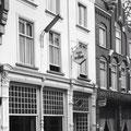 Hotel De Schuur, Catharinastraat 17-19, Breda (1960) in de 1950/1960-er jaren vermaard om zijn dansavonden in het weekend.