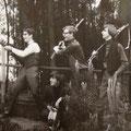 THE OP-SOUND 1967. vlnr: Cor van Dongen, René de Kok, Fred Baarda en Piet van Trijp.