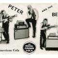 PETER & THE BEATS - met hun nieuwe Fender line-up -  vlnr: Henk van Genderen - Herman Kroese - Peter Grinwis - Koos Huls - Leo van de Corput