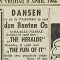 THE HERALDS: Dagblad de Stem 8-4-1966